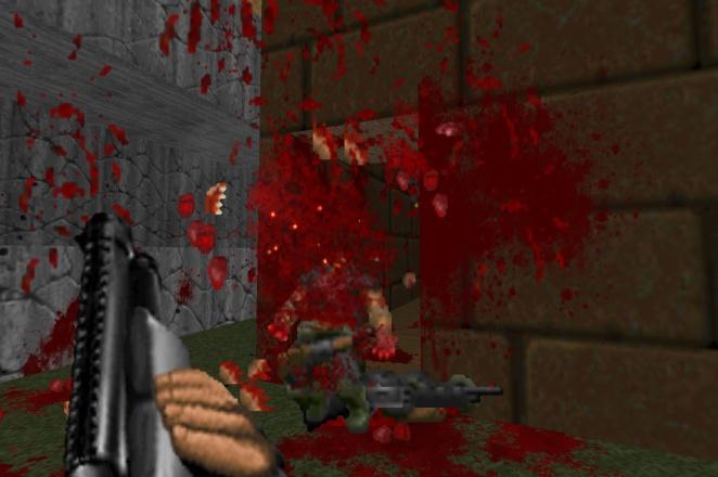 brutal doom shotgun gib